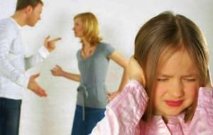 Proteggere i figli durante la seprazione.